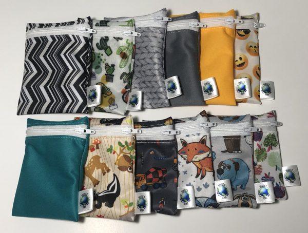 Mini-sac à collation réutilisable
