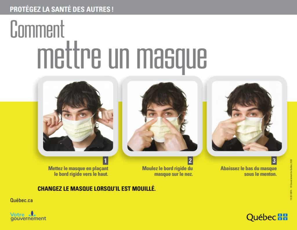 Bien mettre un masque